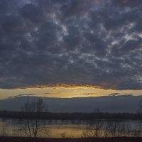 Закат над Енисеем :: Сергей Щербинин