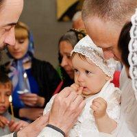 Крещение Виолетты :: Дарья Дядькина
