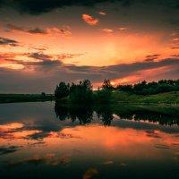 Зеркальный рассвет :: fedor zadorognii
