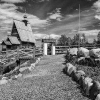 Деревянная церковь :: Андрей Зайцев