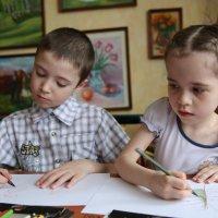 урок рисования :: Вадим Виловатый