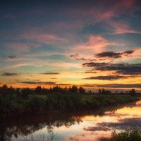 Днепр после заката. :: Andrei Dolzhenko
