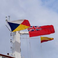 Флаги над кораблём :: Natalia Harries