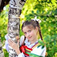 Девочка в русском костюме :: марина алексеева