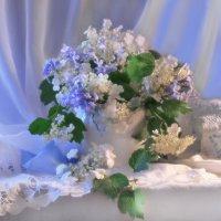 В голубом сиянии белой ночи... :: Валентина Колова