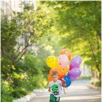 Я улетаю на больших воздушных шарах... :: Алеся Daisy