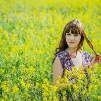 Солнце, небо и море цветов :: Ольга Осипчук