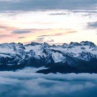 Вершины Альпийских гор :: Zifa Dimitrieva