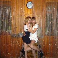 с сестрой :: Елена Харитонова