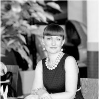 в кафе :: Евгения Полянова