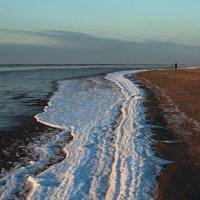 Северодвинск. Разные дни у Белого моря. Начало олединения :: Владимир Шибинский