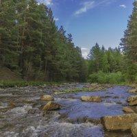 река Тюлюк, приток реки Юрюзань :: Сергей Сердечный