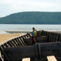 Вот это лодочка! :: Наталья Тимофеева
