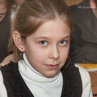 Марьянка на уроке труда :: Ева Олерских