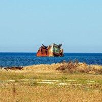 Корабль, затонувший близ степи :: Юрий Яловенко