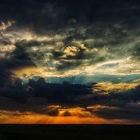 Закат над степью :: Виталий Павлов