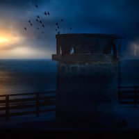 Старый маяк :: Фотохудожник Наталья Смирнова