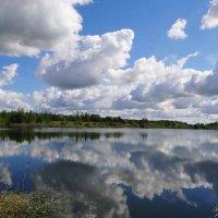 Облачка купаются... лето.. :: Антонина Гугаева