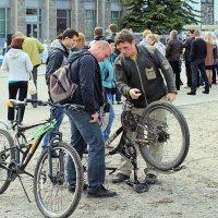 Северодвинск. День России. И здесь велосипеды :: Владимир Шибинский