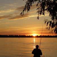 Вечерняя рыбалка :: Николай Алехин