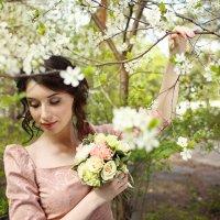Цветущая вишня :: Татьяна Михайлова