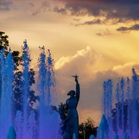 Аврора на закате :: Андрей Печерский