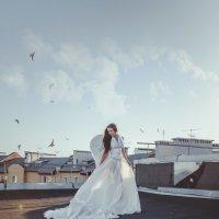 Ангел на крыше :: Алена