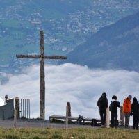 Облака в горах плывут ниже нас :: Zifa Dimitrieva