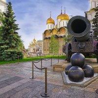 Успенский собор, Царь-пушка :: mila
