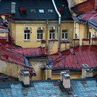 Питерские крыши. :: —- —-
