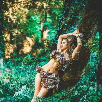 В таинственном лесу :: Денис Красненко
