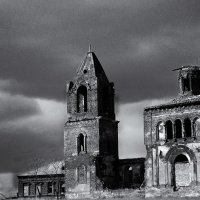 Разбитая Церковь :: Виктор Кудрявец