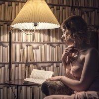 Уютным вечером с книгой :: Алексей Соминский