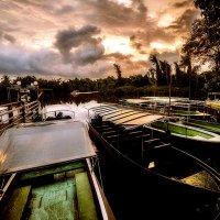 про лодки на закате :: Александр