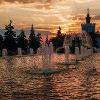 ВДНХ. Вечер :: Андрей Воробьев