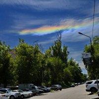 А у нас цветные облока :: Рахмат Рушанов