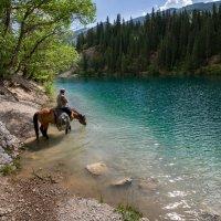 озеро Кульсай , нижнее :: человечик prikolist