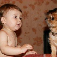 Не бойся. Я тебя только поглажу. :: Anatol Livtsov