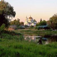 Вечером на реке. :: Валентина Домашкина