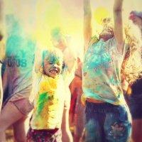 Фестиваль красок Холи :: Алиса Бронникова
