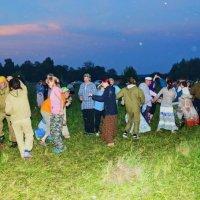 В ночь на Ивана-Купалу у деревни Шаврята на Обве :: Валерий Симонов