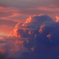 Небеса на закате. :: Антонина Гугаева