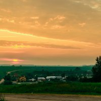 Закат над Мельгуново :: Виктор Зенин