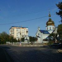 Улица  Вовчинецкая  в  Ивано - Франковске :: Андрей  Васильевич Коляскин