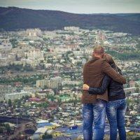 Полёты чувств над городом... :: Vladimir Klimov