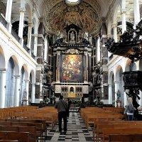 Католический храм в Антверпене :: Евгений Дубинский