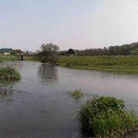 Речка Асовка в селе Асово...))) - холодная :: Владимир Хиль
