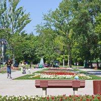 В летнем парке :: val-isaew2010 Валерий Исаев