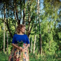Девушка с клевером :: Мария Зубова