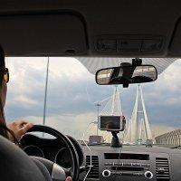Впереди -Вантовый мост.... :: Tatiana Markova